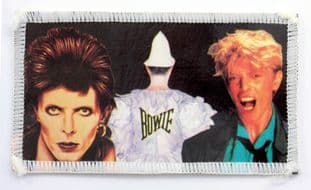 David Bowie - 'Album Cover Collage' Photo Patch