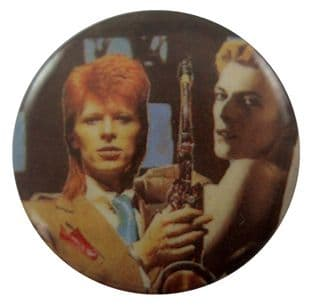 David Bowie - 'David Ginger Hair' Button Badge
