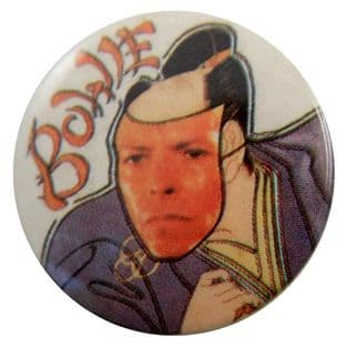 David Bowie - 'Face Collage' Button Badge