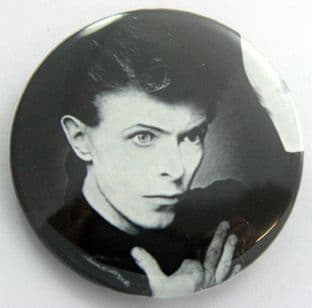 David Bowie - 'Heroes' Large Button Badge