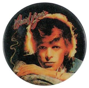 David Bowie - 'Young Americans' Button Badge