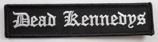 Dead Kennedys - 'Name' Embroidered Patch