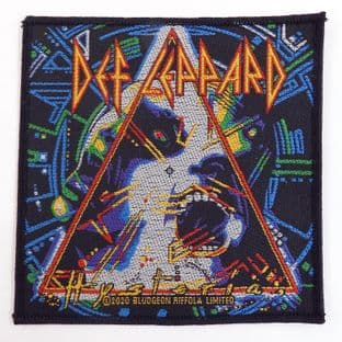 Def Leppard - 'Hysteria' Woven Patch