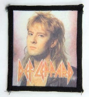 Def Leppard - 'Joe Elliott' Printed Patch