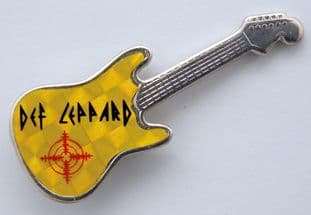 Def Leppard - 'Logo' Prismatic Guitar Badge