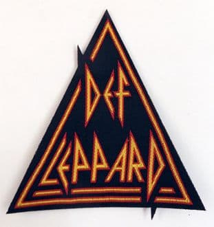 Def Leppard - 'Shaped Logo' Woven Patch