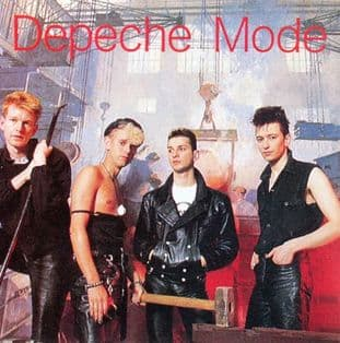 Depeche Mode - 'Construction' Square Sticker