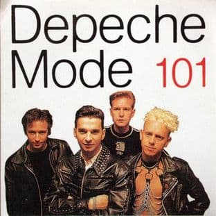Depeche Mode - 'Group Leather Jackets' Square Sticker