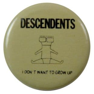 Descendents - 'I Don't Want to Grow Up' Button Badge