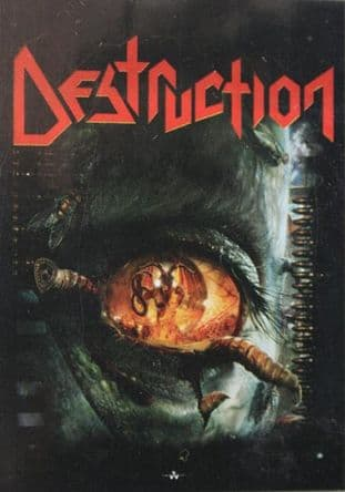 Destruction - 'Day of Reckoning' Poster Flag