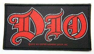 Dio - 'Logo' Woven Patch