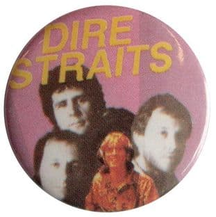 Dire Straits - 'Group' Button Badge