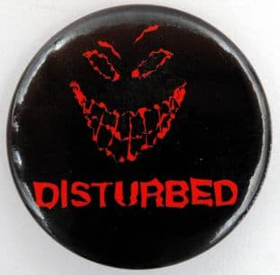 Disturbed - 'Summer of the Sickness' Large Button Badge