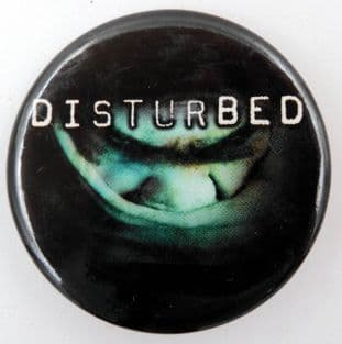 Disturbed - 'The Sickness' Large Button Badge