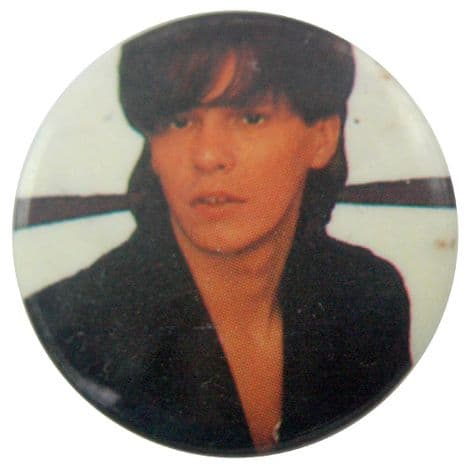 Duran Duran - 'Andy Taylor White' Button Badge