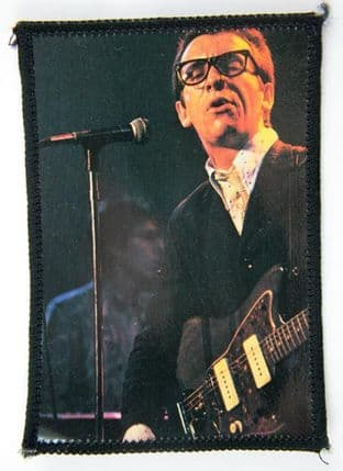 Elvis Costello - 'On Stage' Photo Patch