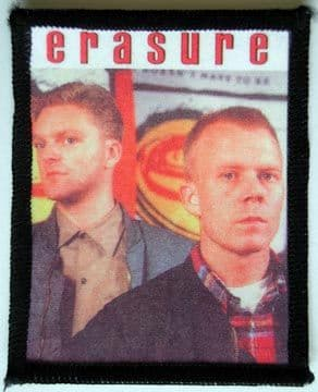 Erasure - 'Andy & Vince' Printed Patch