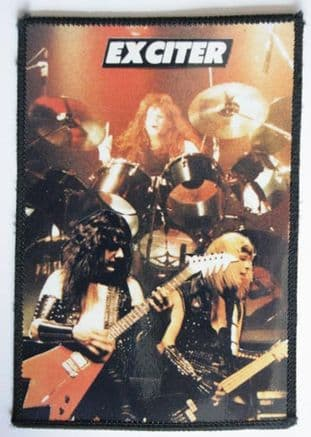Exciter - 'On Stage' Composite Photo Patch