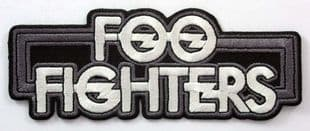 Foo Fighters - 'New Logo' Embroidered Patch