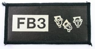 Fun Boy Three - 'FB3' Printed Patch
