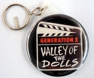 Generation X - 'Valley of the Dolls' Large Round Mirror Keyring