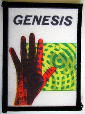 Genesis - 'Invisible Touch' Printed Patch