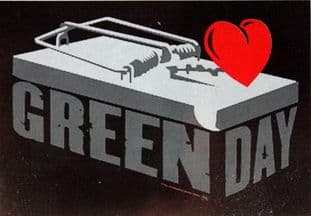 Green Day - 'Mousetrap' Poster Flag