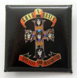 Guns N' Roses - 'Appetite For Destruction' Square Badge