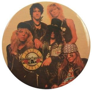 Guns N'Roses - 'Group' 56mm Badge