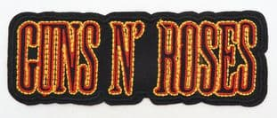 Guns N'Roses - 'Logo' Embroidered Patch
