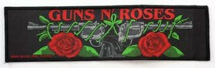 Guns N'Roses - 'Roses and Guns' Woven Strip Patch