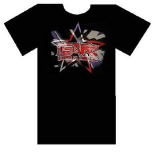 Guns N'Roses - 'Star/UK Flag' T.Shirt