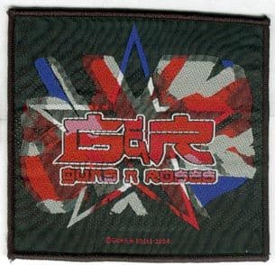 Guns N'Roses - 'UK Star' Woven Patch