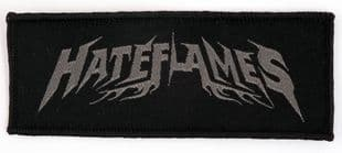 Hateflames - 'Logo' Woven Patch