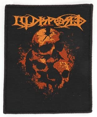 Illdisposed - 'For the Dead' Woven Patch