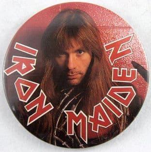 Iron Maiden - 'Bruce' Vintage 56mm Badge