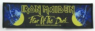 Iron Maiden - 'Fear of the Dark' Woven Strip Patch