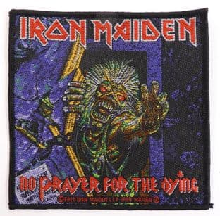 Iron Maiden - 'No Prayer For the Dying' Woven Patch