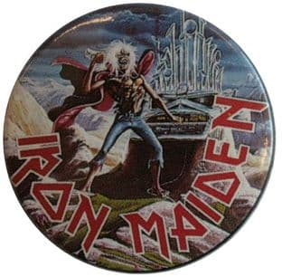 Iron Maiden - 'Phantom of the Opera' Vintage 32mm Badge