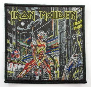 Iron Maiden - 'Somewhere in Time' Woven Patch