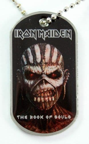 Iron Maiden - 'The Book of Souls' Dog Tag