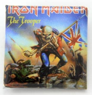 Iron Maiden - 'The Trooper' Square Badge