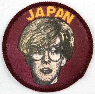 Japan - 'David Sylvian' Round Printed Patch