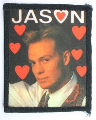 Jason Donovan - 'Hearts' Printed Patch
