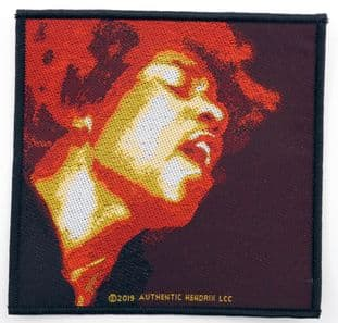 Jimi Hendrix - 'Electric Ladyland' Woven Patch