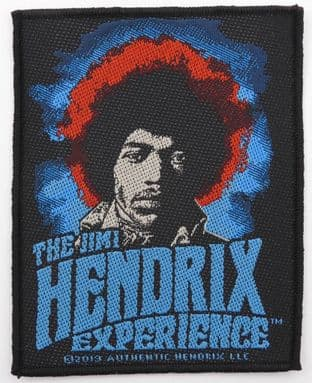 Jimi Hendrix - 'The Jimi Hendrix Experience' Woven Patch