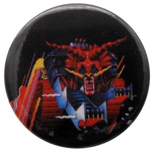 Judas Priest - 'Defenders of the Faith 3' Button Badge