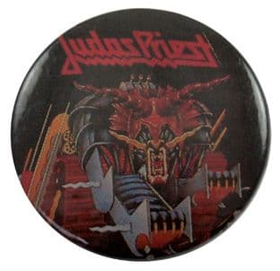 Judas Priest - 'Defenders of the Faith' Button Badge