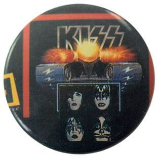 Kiss - 'Group Tank' Button Badge