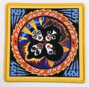 Kiss - 'Rock and Roll Over' Printed Patch
